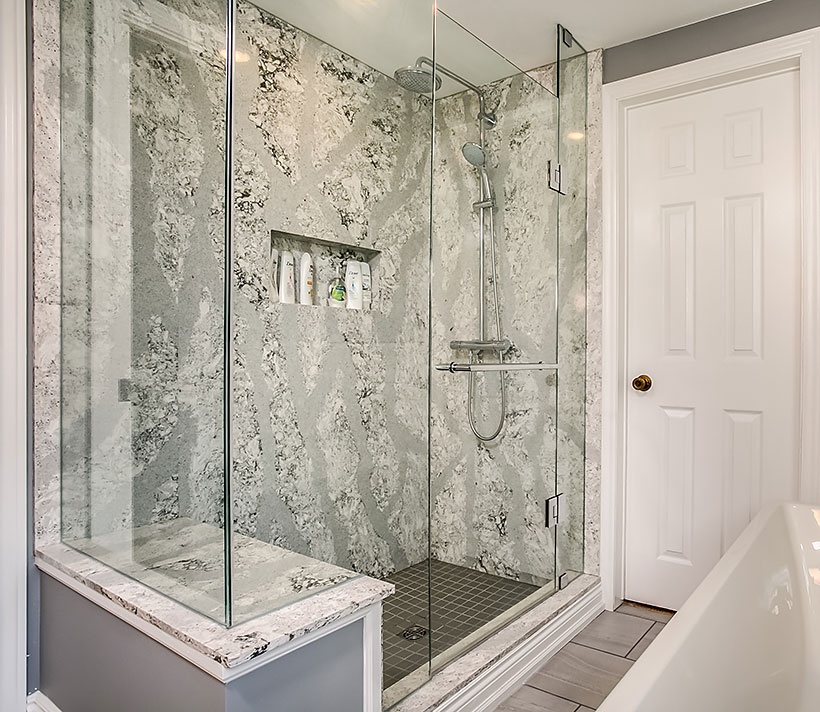 Brampton Walk-in Shower Renovation