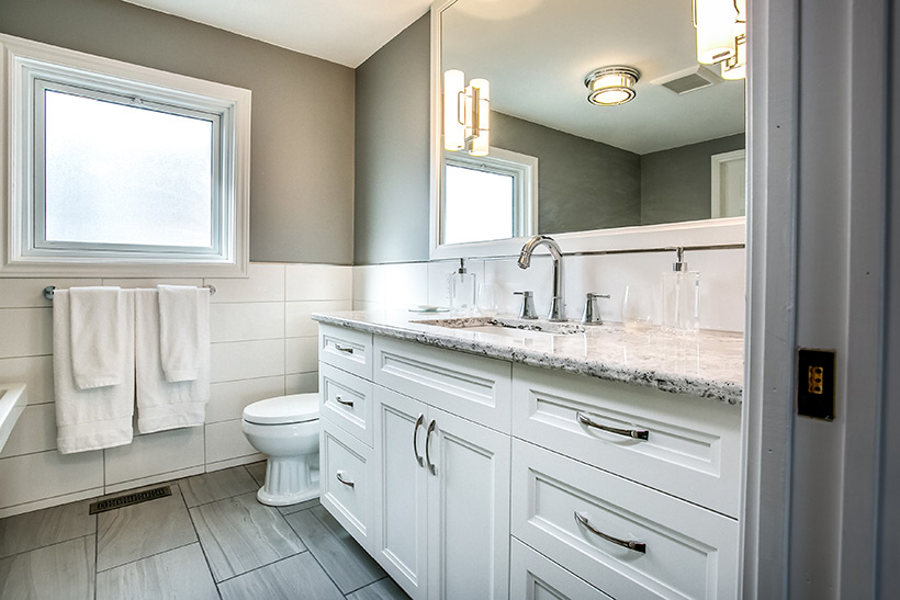 Bathroom Renovation In Halton Hills