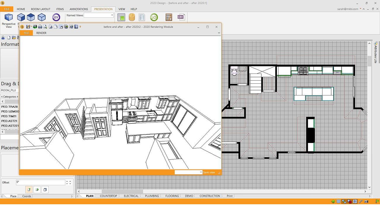 Renovation Design Software Alternate View