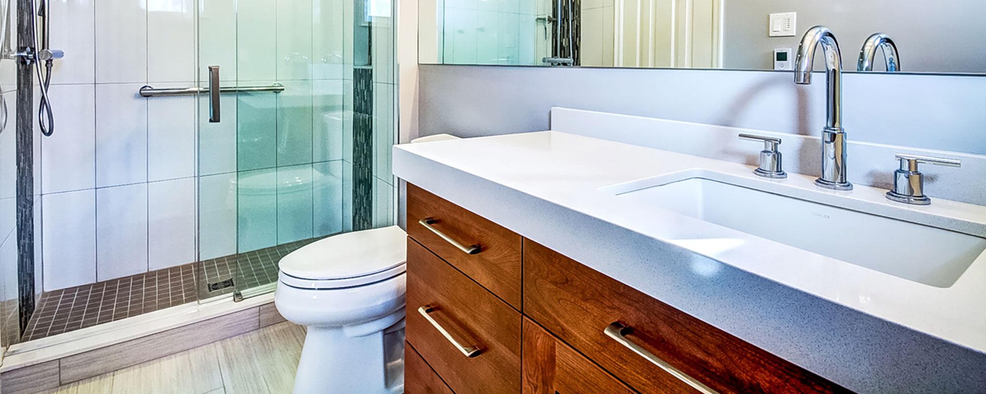 Tamarack Trail Family Bathroom and Ensuite Bathroom Renovation